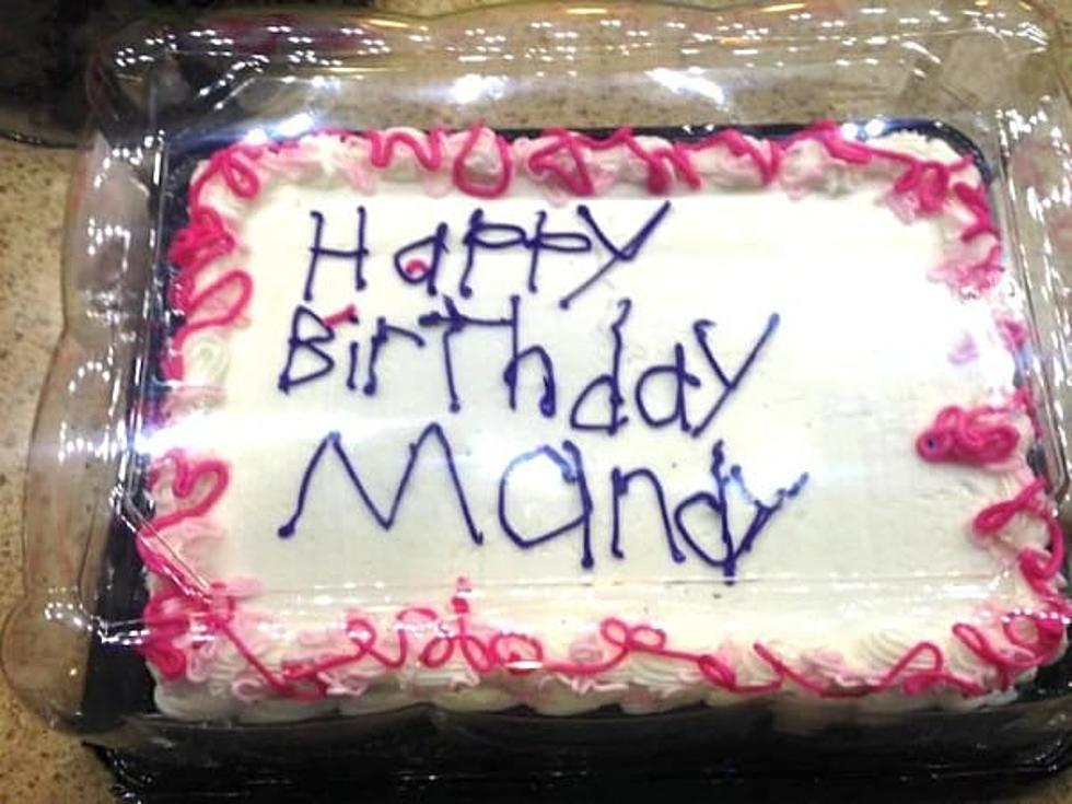 This Cake Has A Special Message